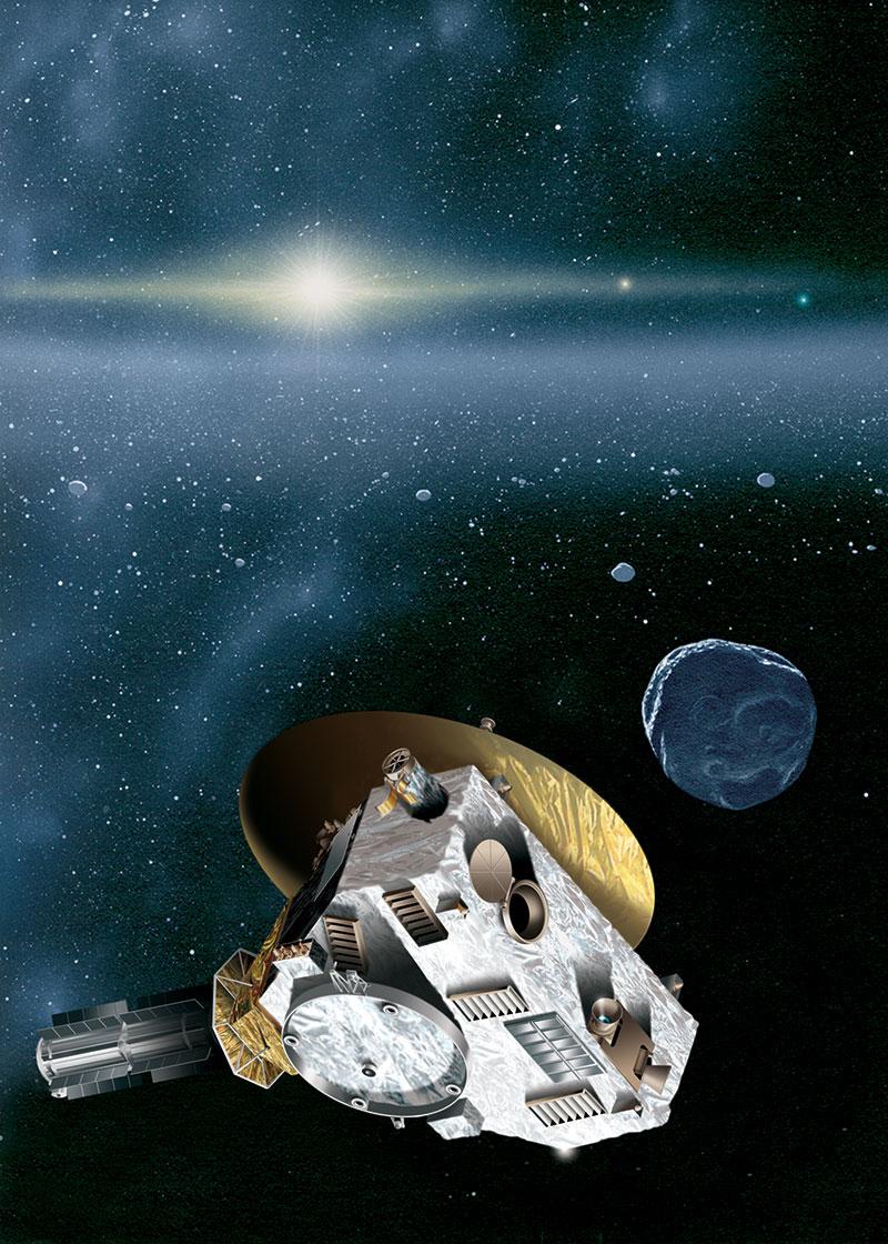 Телескоп Hubble охотится за новой целью зонда NASA