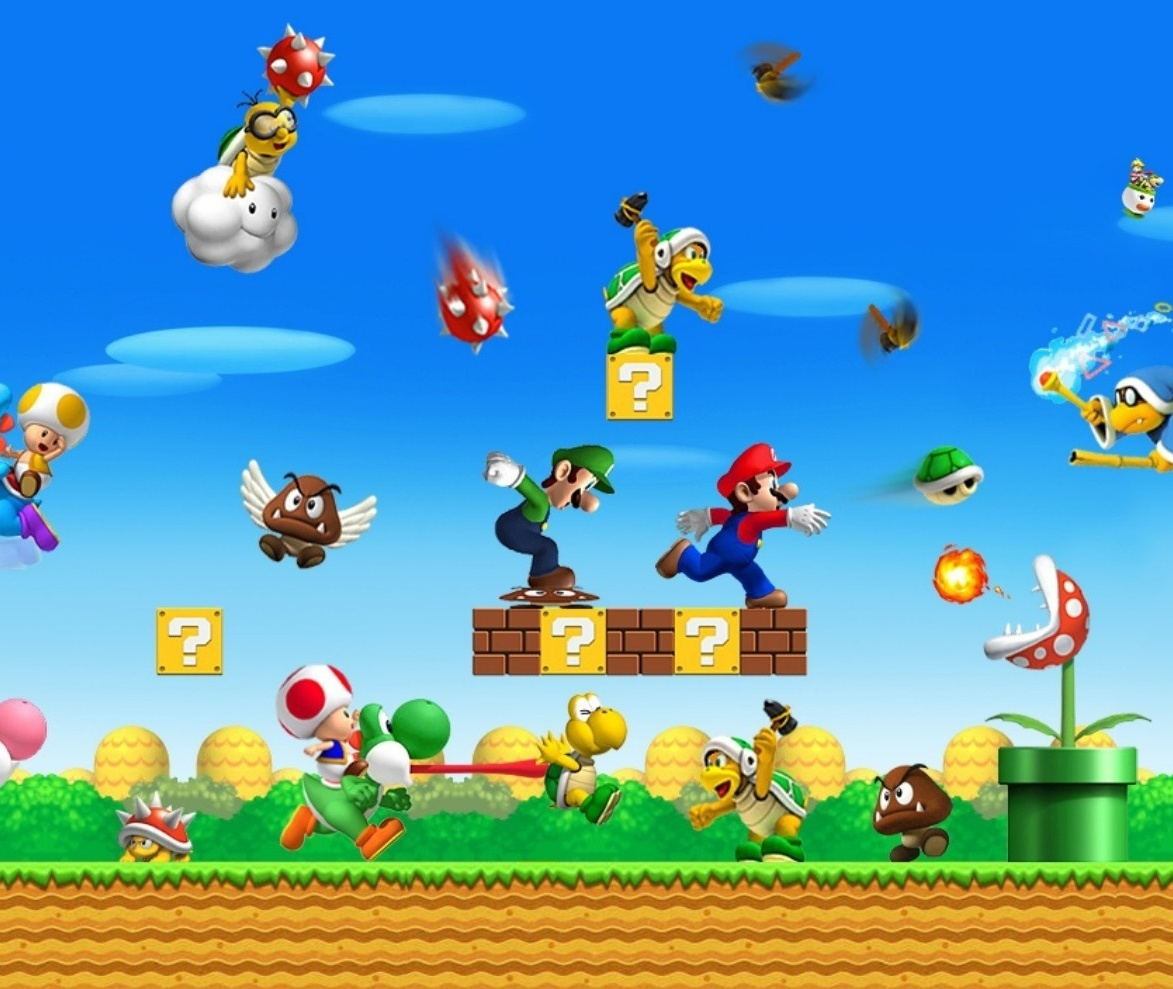 play free mario games online without download