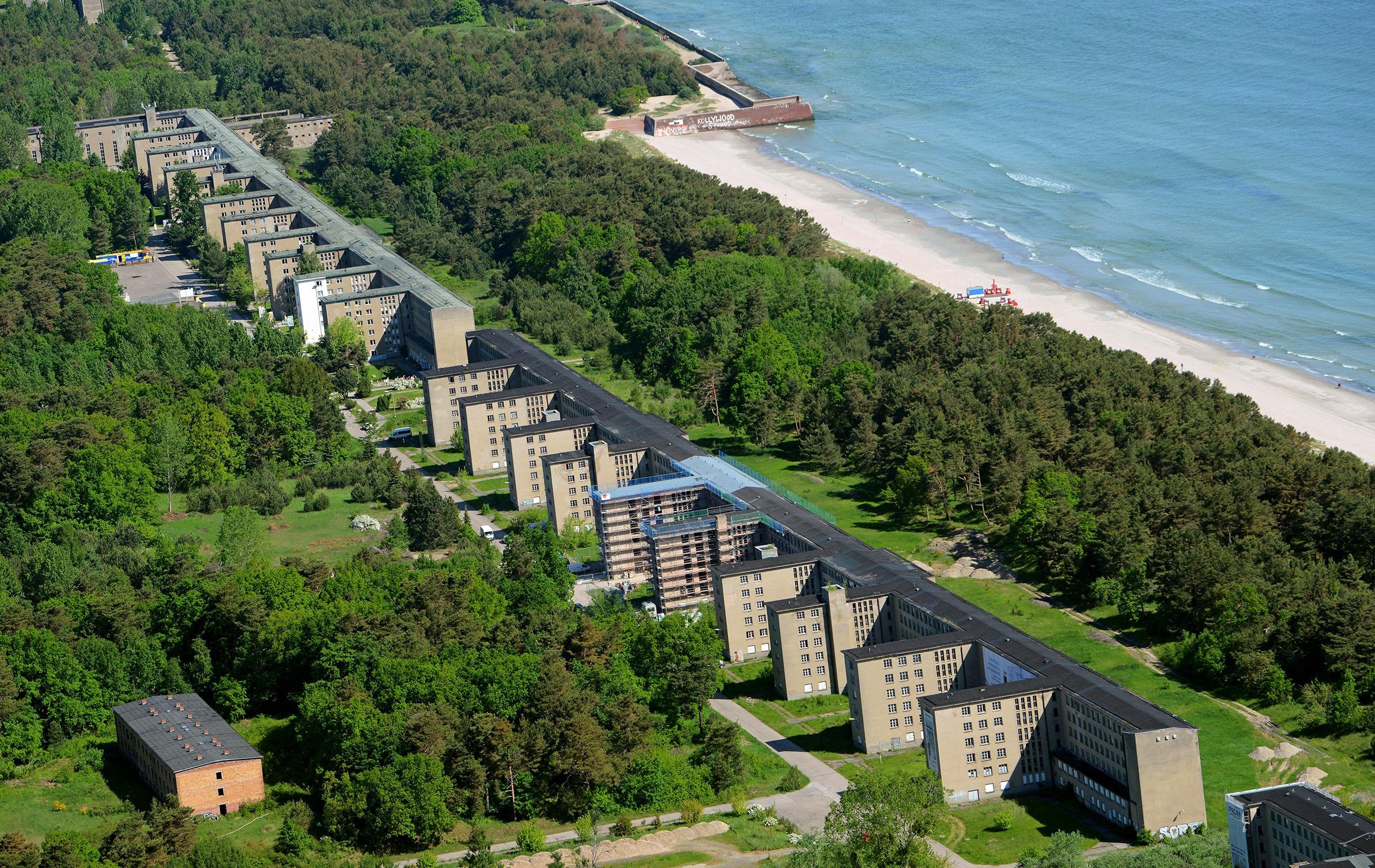 Девелоперы превратят нацистскую турбазу в 5-звездочный курорт