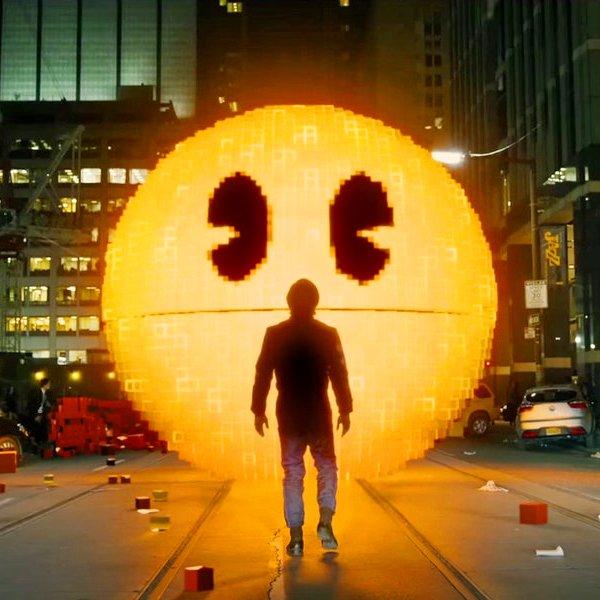 США,кинематограф,кино, Обзор фильма «Пиксели» — кино мечты для олдскульных геймеров