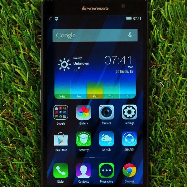 Lenovo, Android, смартфон, Обзор Lenovo P90