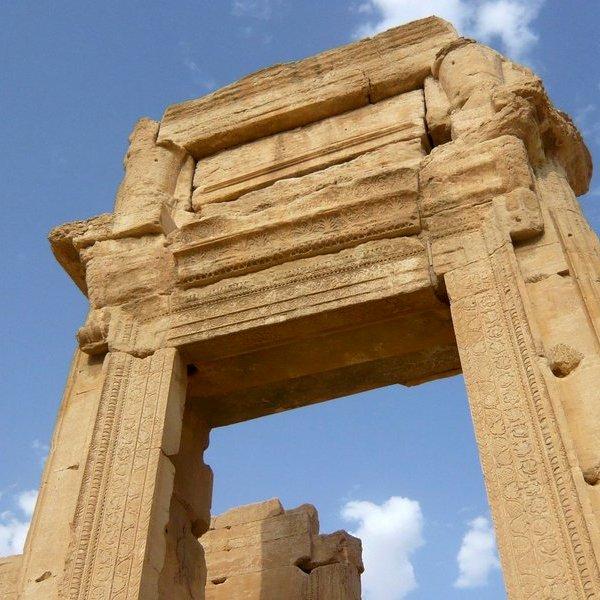 3D,история,архитектура,археология,религия,политика,общество,война,исследование,фото,дизайн,путешествия,отдых,туризм, Храм Бэла в Пальмире: монументальную арку, разрушенную террористами воссоздадут с помощью 3D-принтера