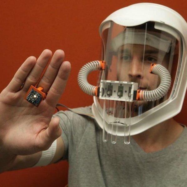 Дизайн, концепт, идея, Synesthesia Mask: маска, с помощью которой можно понюхать цвет