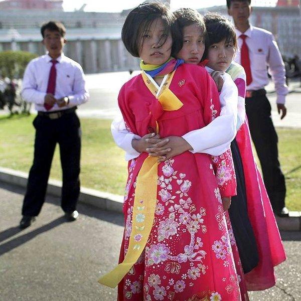 КНДР, фото, культура, общество, «В Пхеньяне всегда солнечно!»