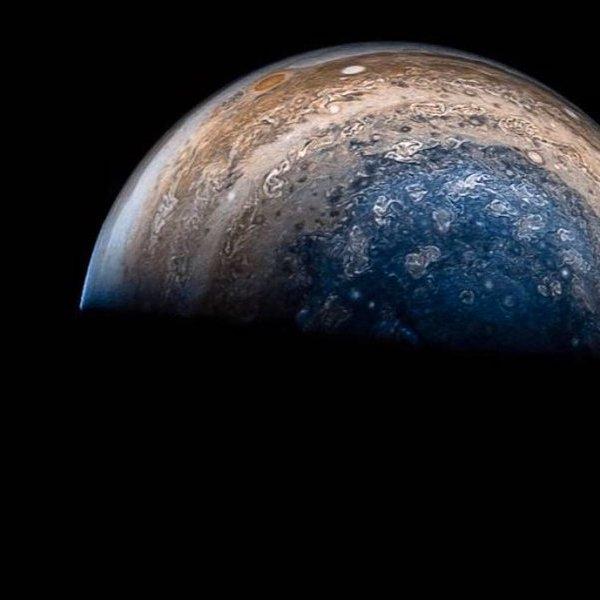 NASA,космос,планета, Пролёт мимо Юпитера: «Юнона» показала атмосферу газового гиганта