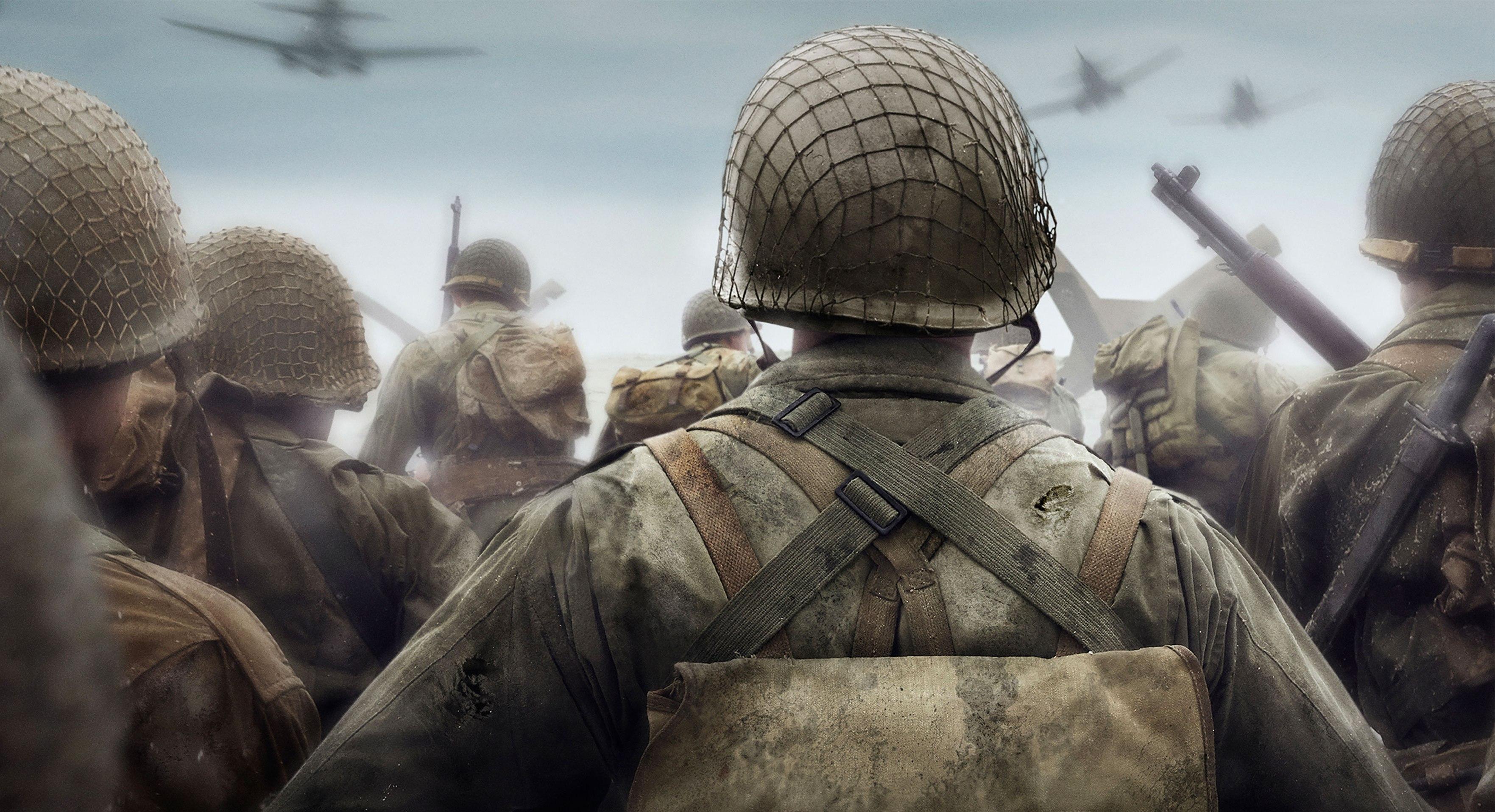 «Сони» показала геймплей новой Call of Duty: WWII