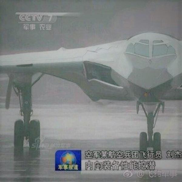Китай,авиация,война, «Летающее крыло» H-20: бомбардировщик будущего